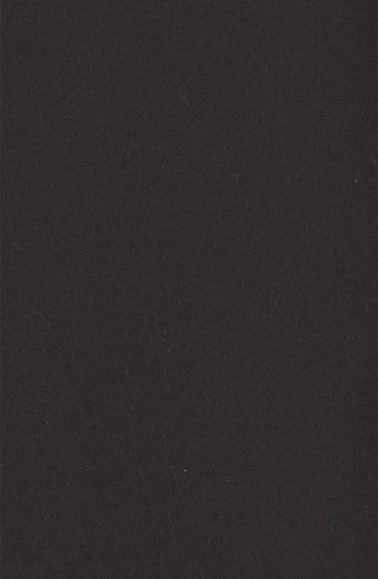 ,                             Side Twist Crop Leggings,                             Alternate thumbnail 2, color,                             BLACK