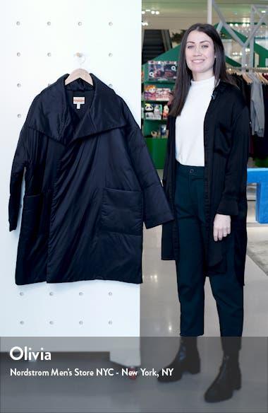 Recycled Nylon Coat, sales video thumbnail