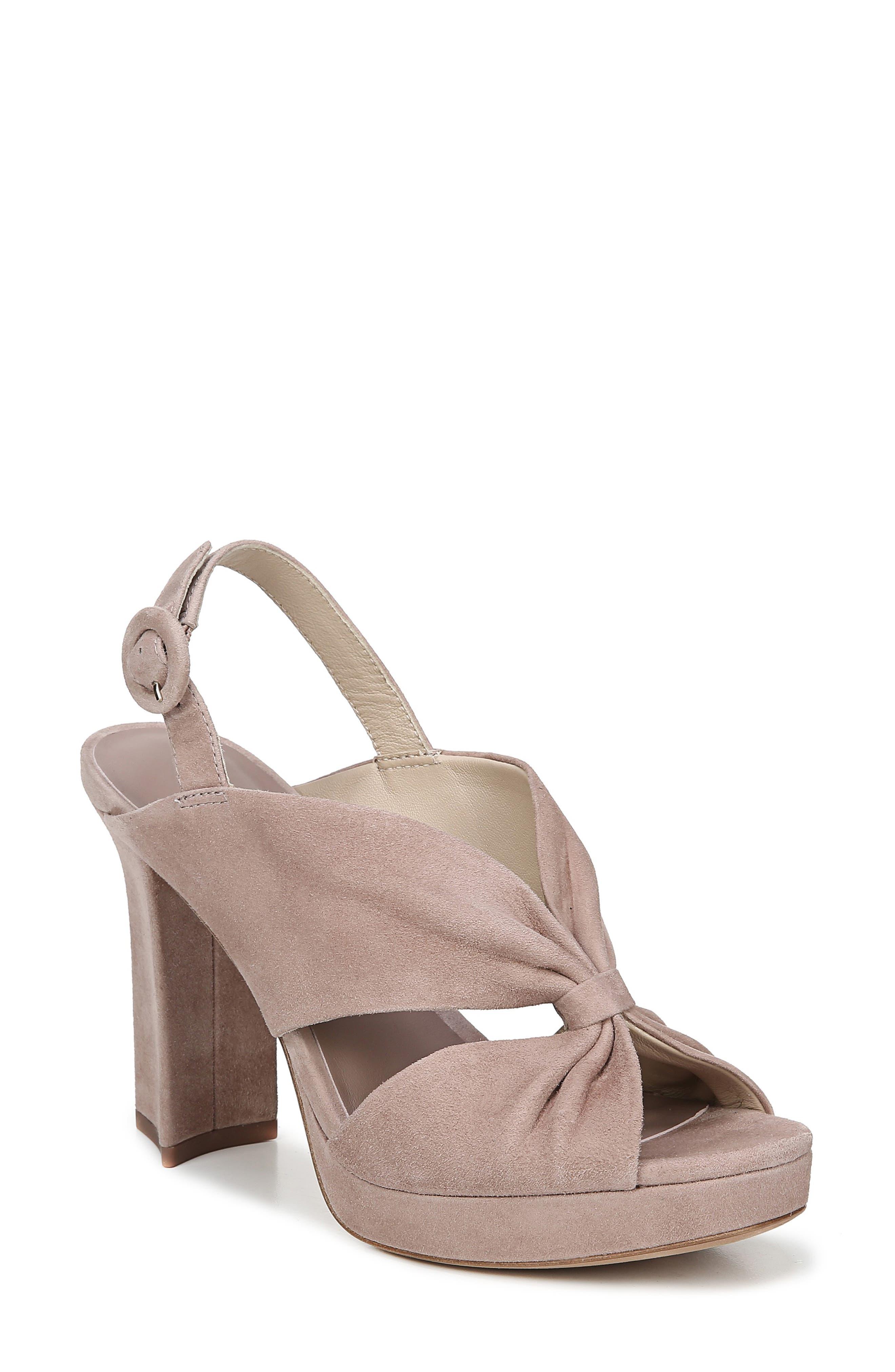 Diane Von Furstenberg Heidi Platform Sandal, Beige