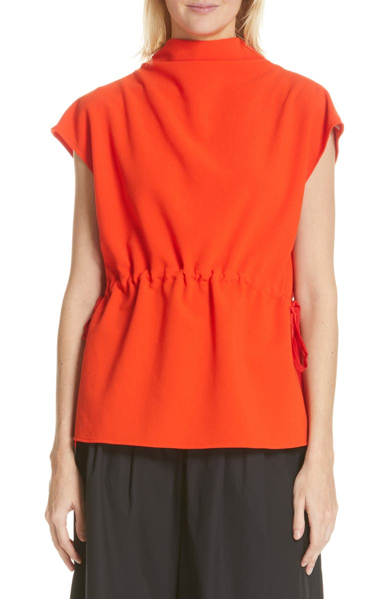 RACHEL COMEY Augusta Mock Neck Top, Main, color, 600