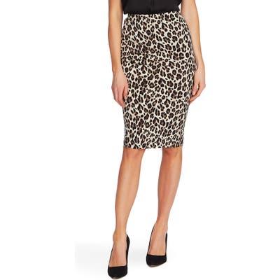 Vince Camuto Leopard Tube Skirt