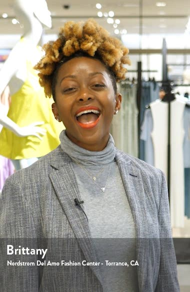 Analee Blouson Romper, sales video thumbnail