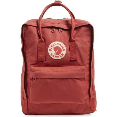 Fjallraven Kanken Water Resistant Backpack - Red