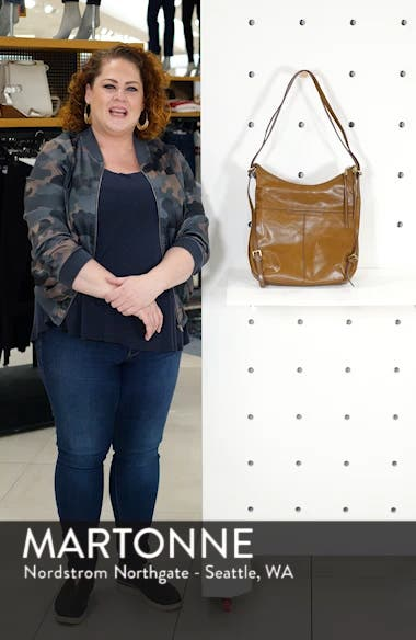 Merrin Leather Backpack, sales video thumbnail