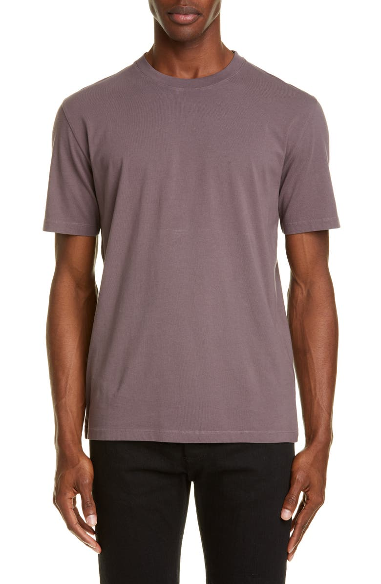 MAISON MARGIELA Solid T-Shirt, Main, color, TAUPE