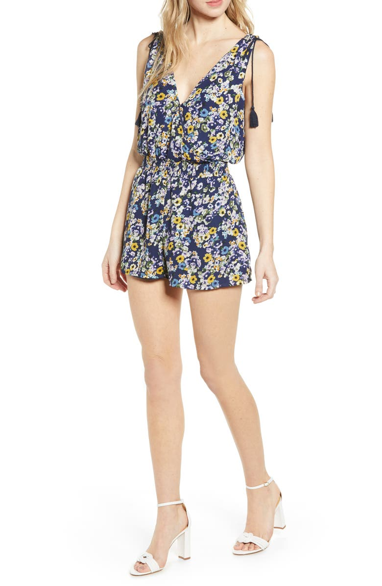 Confetti Blooms Romper by Cupcakes And Cashmere