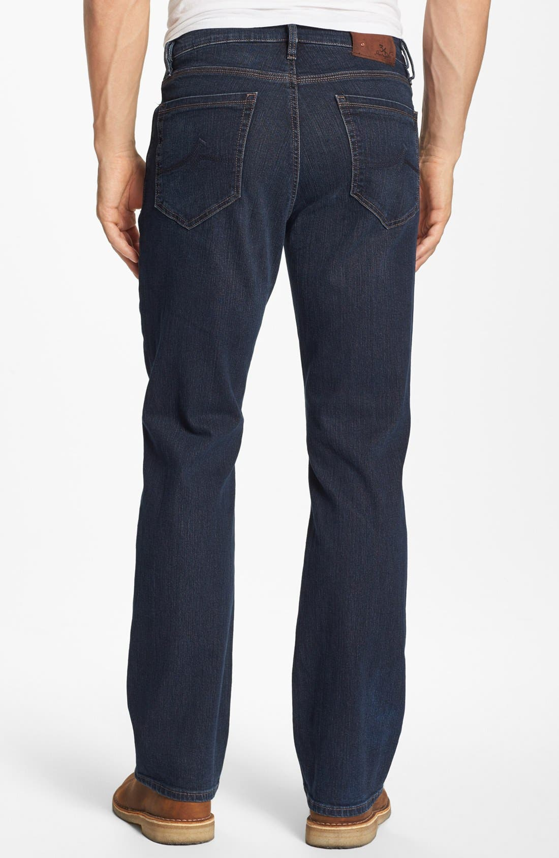 ,                             Charisma Relaxed Fit Jeans,                             Alternate thumbnail 4, color,                             DARK COMFORT