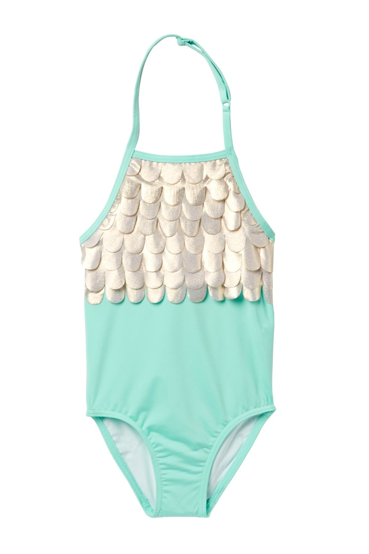 Image of Harper Canyon Scalloped One-Piece Swimsuit