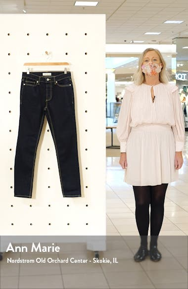 Raw Denim Stretch Skinny Jeans, sales video thumbnail