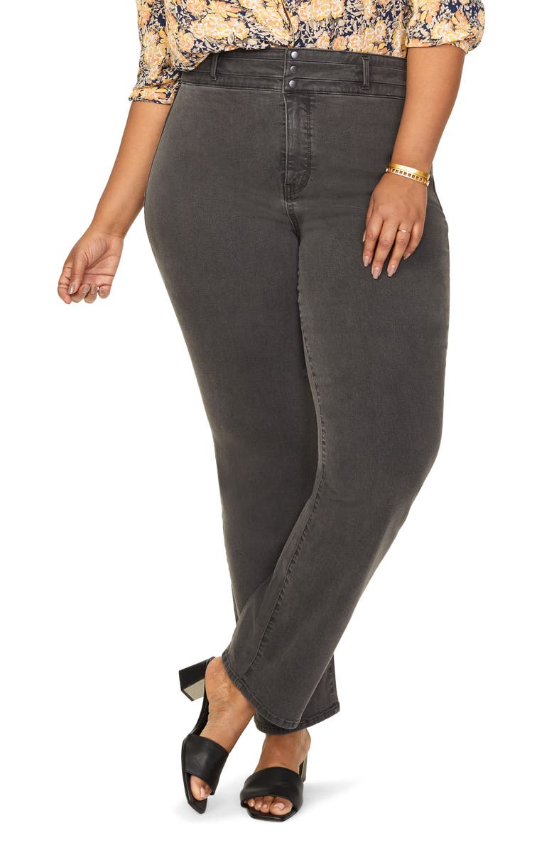NYDJ Marilyn Paneled Straight Leg Jeans, Main, color, 401