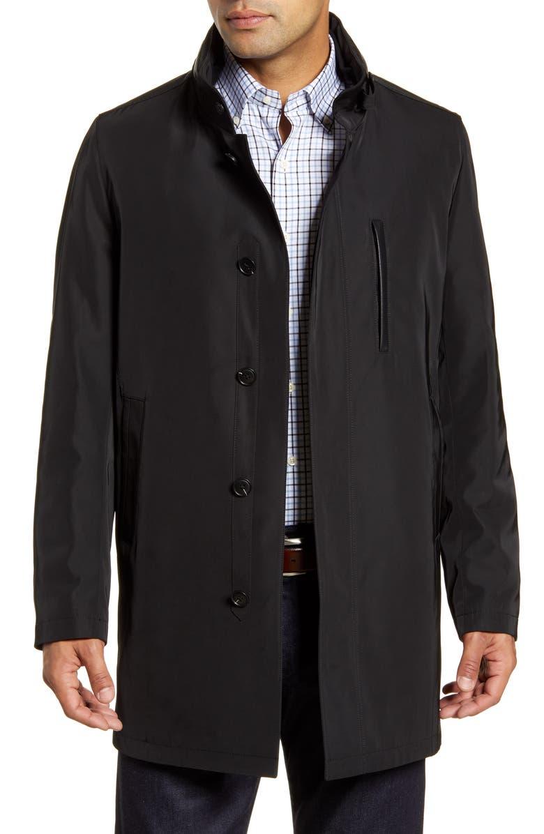 JOHN W. NORDSTROM<SUP>®</SUP> Preston Raincoat, Main, color, BLACK CAVIAR