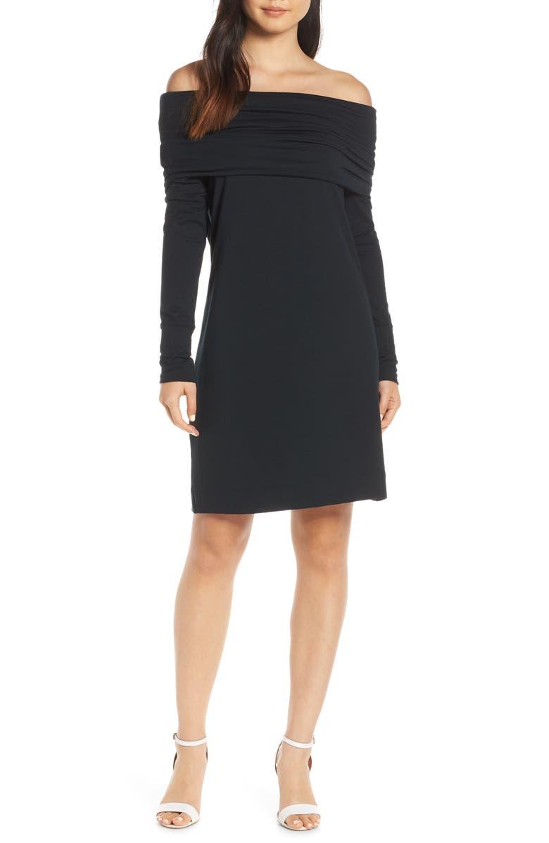 LILLY PULITZER<SUP>®</SUP> Belinda Off the Shoulder Banded Dress, Main, color, 001