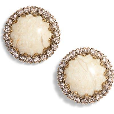 Sorrelli Rhinestone Edge Stud Earrings