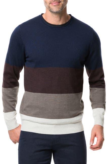 Image of RODD AND GUNN Wendon Colorblock Wool Sweater