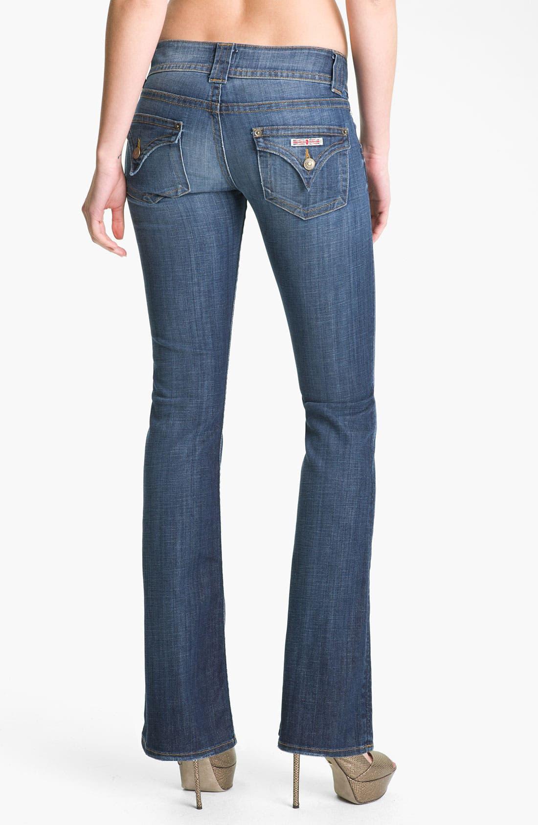 ,                             Signature Flap Pocket Bootcut Jeans,                             Alternate thumbnail 94, color,                             499