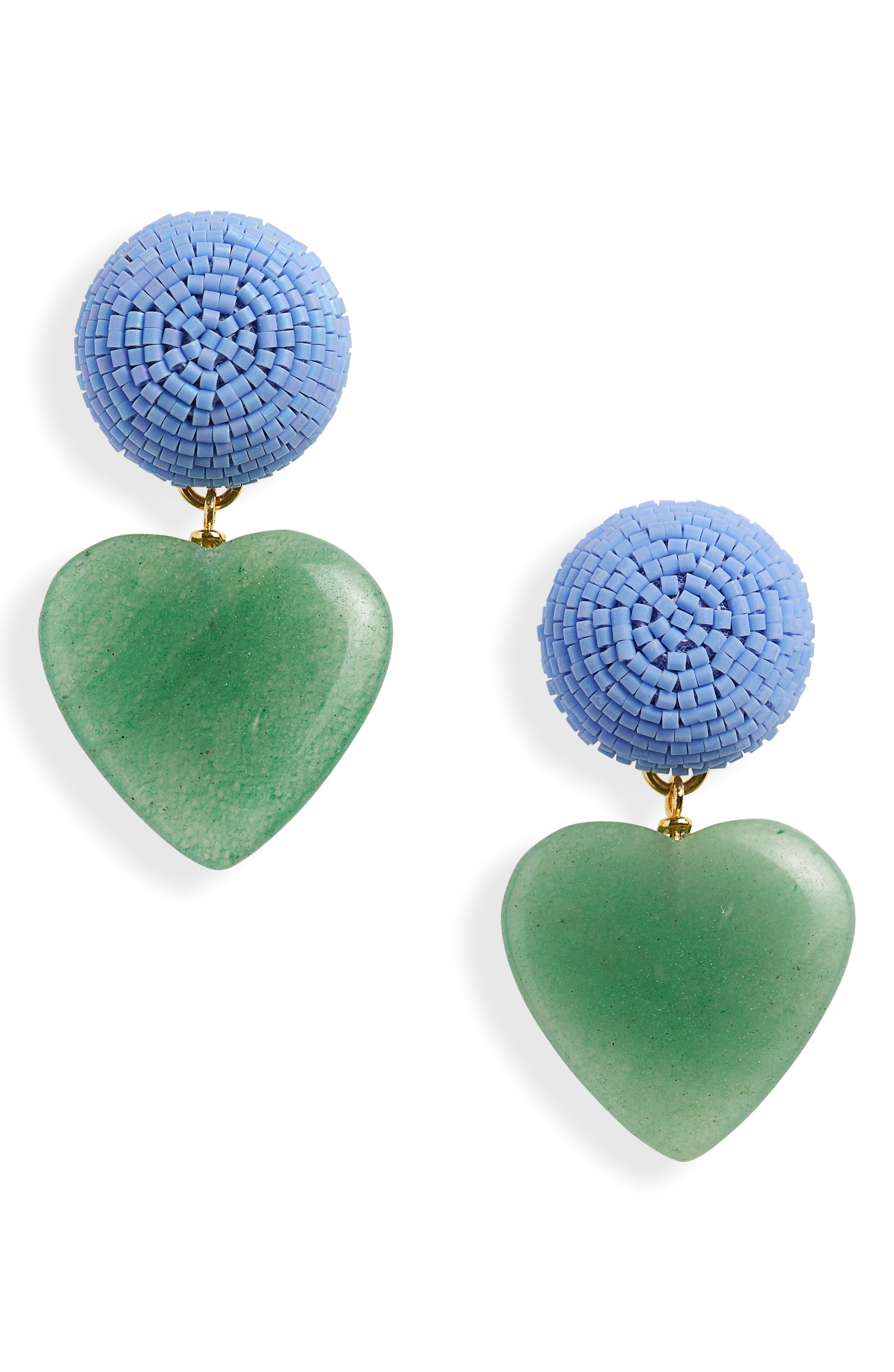 Blue Crush Drop Earrings