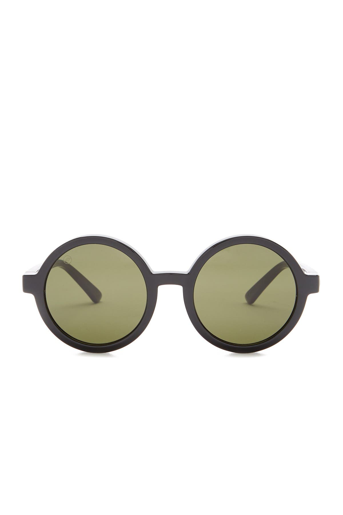 Image of ELECTRIC 51mm Lunar Round Sunglasses