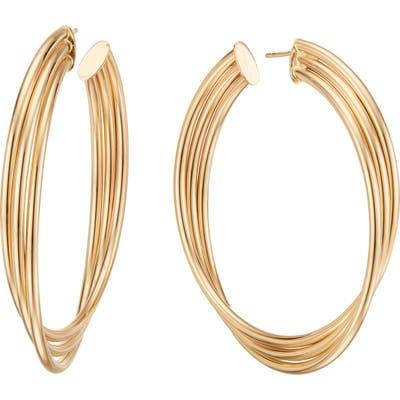 Lana Jewelry Triple Twist Royale Hoop Earrings
