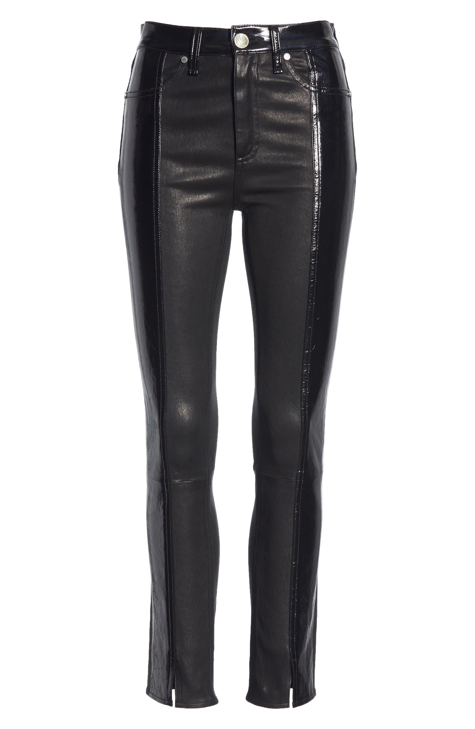 29c8ee42e0e72 rag & bone Evelyn Skinny Lambskin Leather Pants | Nordstrom