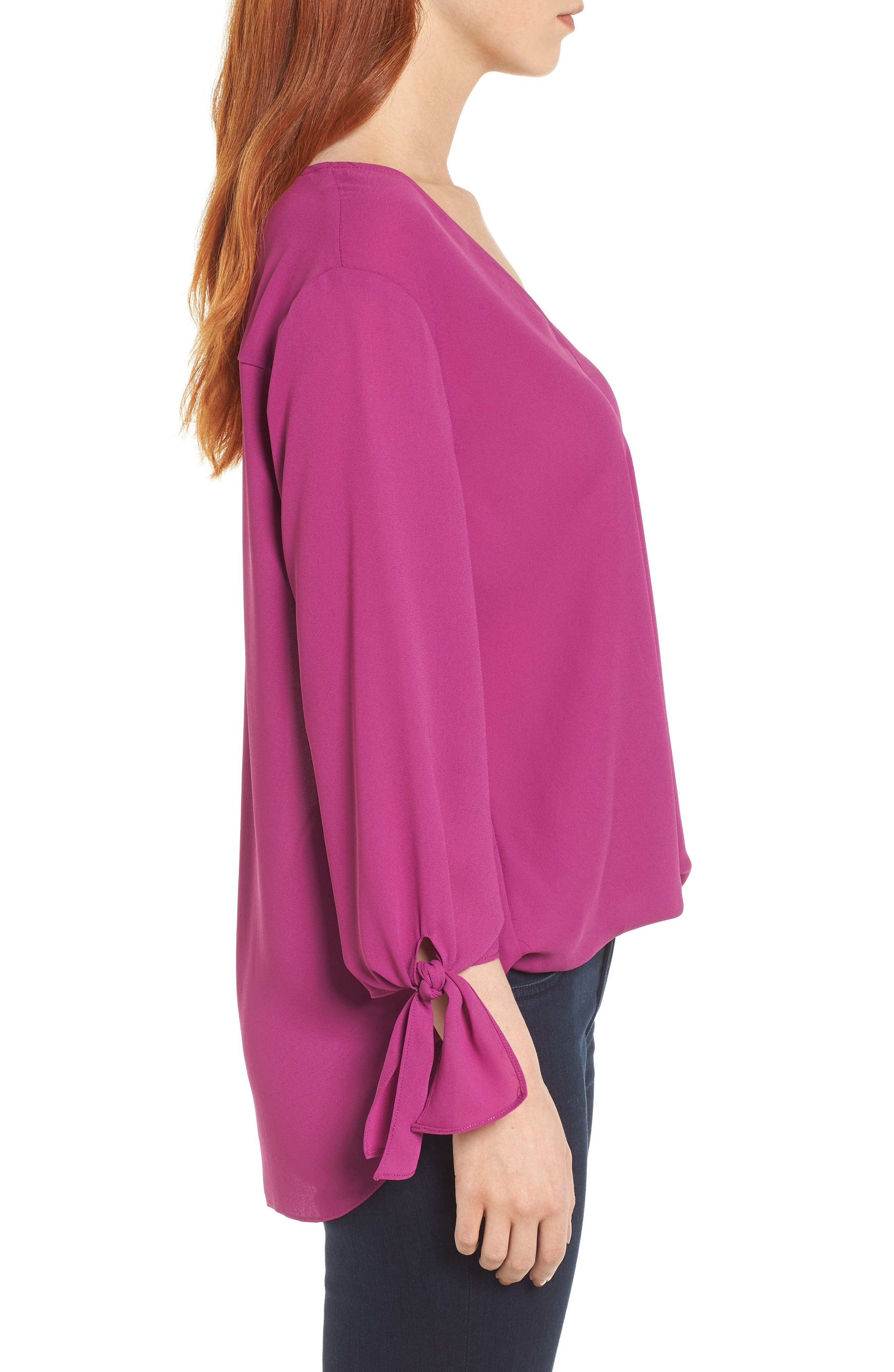,                             Surplice Neck Top,                             Alternate thumbnail 27, color,                             503