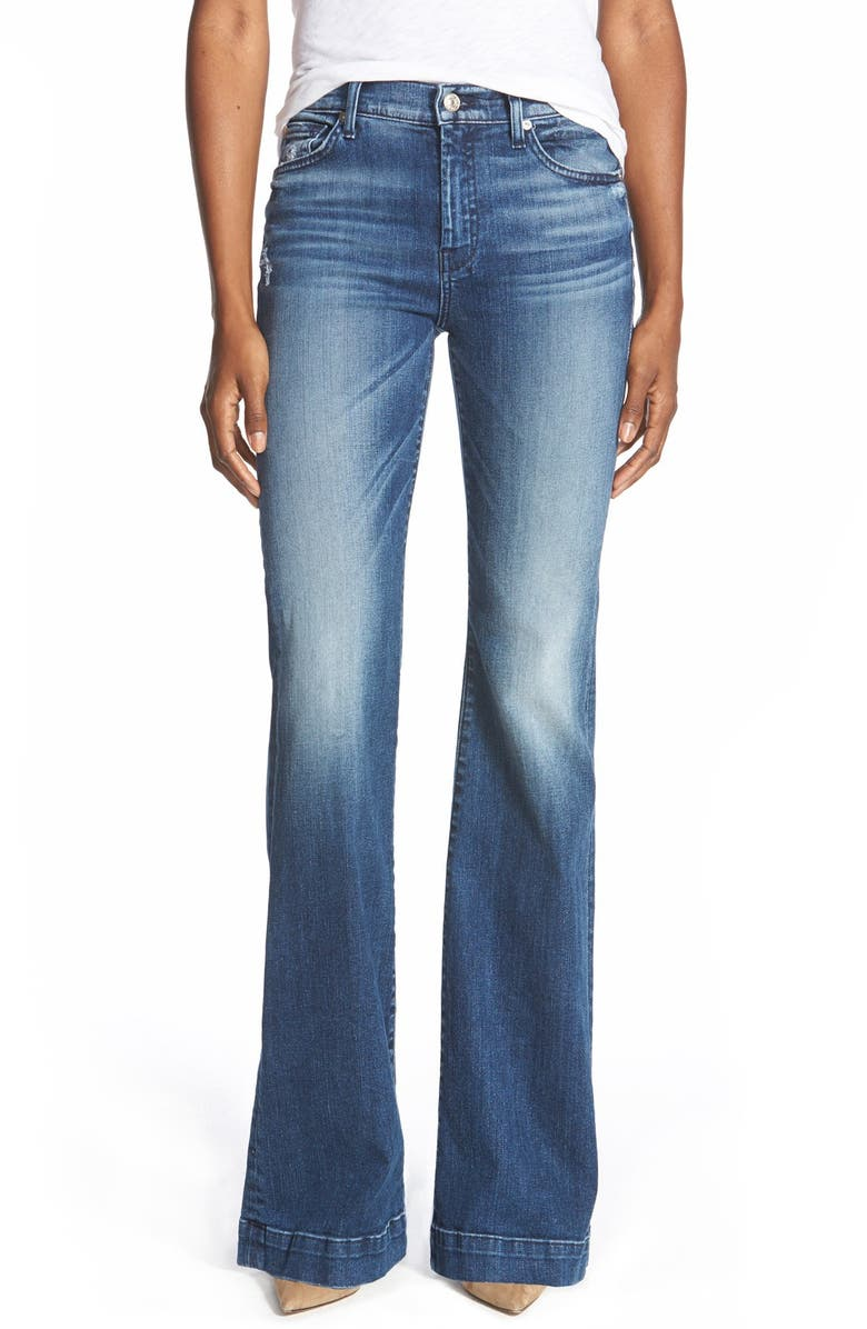 8708215245 7 For All Mankind® b(air) Dojo Trouser Jeans (Lake Blue) | Nordstrom
