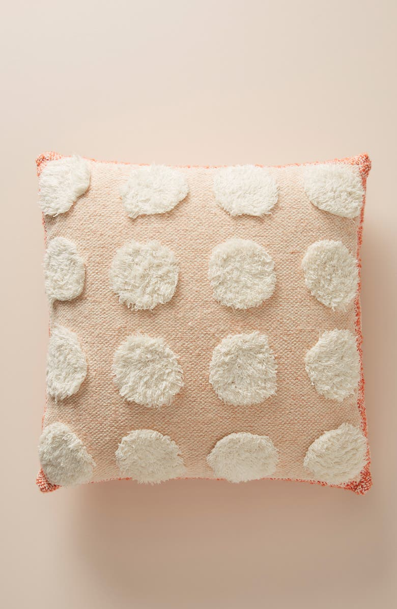ANTHROPOLOGIE Suvarna Accent Pillow, Main, color, 800