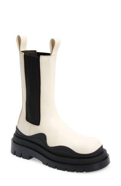 Bottega Veneta BV TIRE CLEAR SOLE CHELSEA BOOT