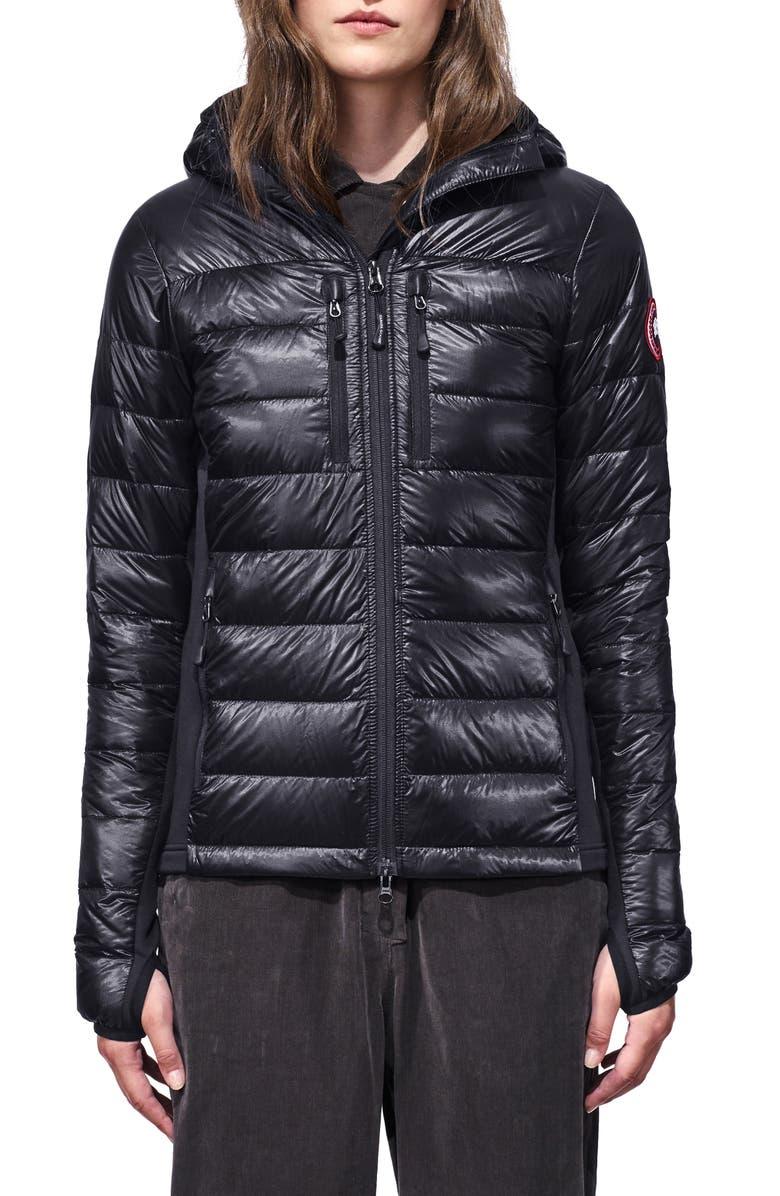 CANADA GOOSE Hybridge Lite Hooded Packable Down Jacket, Main, color, NAVY