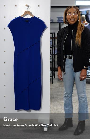 Eden Slash Detail Midi Dress, sales video thumbnail