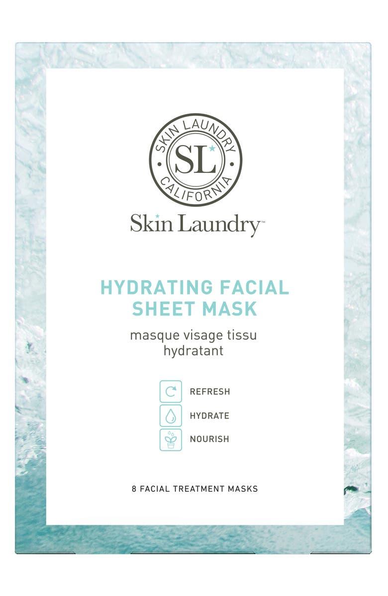 SKIN LAUNDRY Hydrating Facial Mask, Main, color, NO COLOR