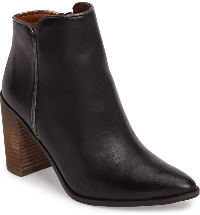 LUCKY BRAND Mytah Pointy Toe Bootie, Main, color, 001