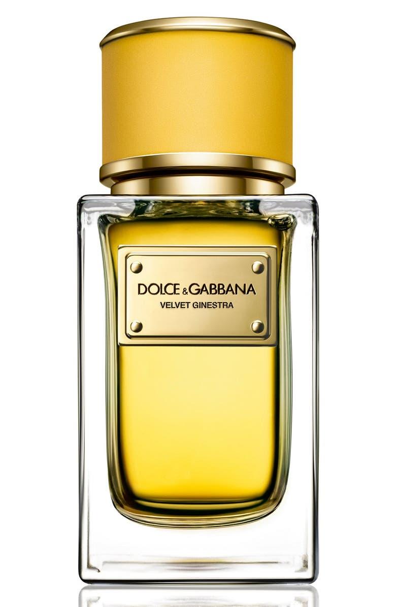 DOLCE&GABBANA Beauty Velvet Ginestra Eau de Parfum, Main, color, NO COLOR
