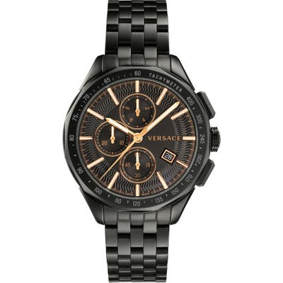 Versace Glaze Chronograph Bracelet Watch, 4m