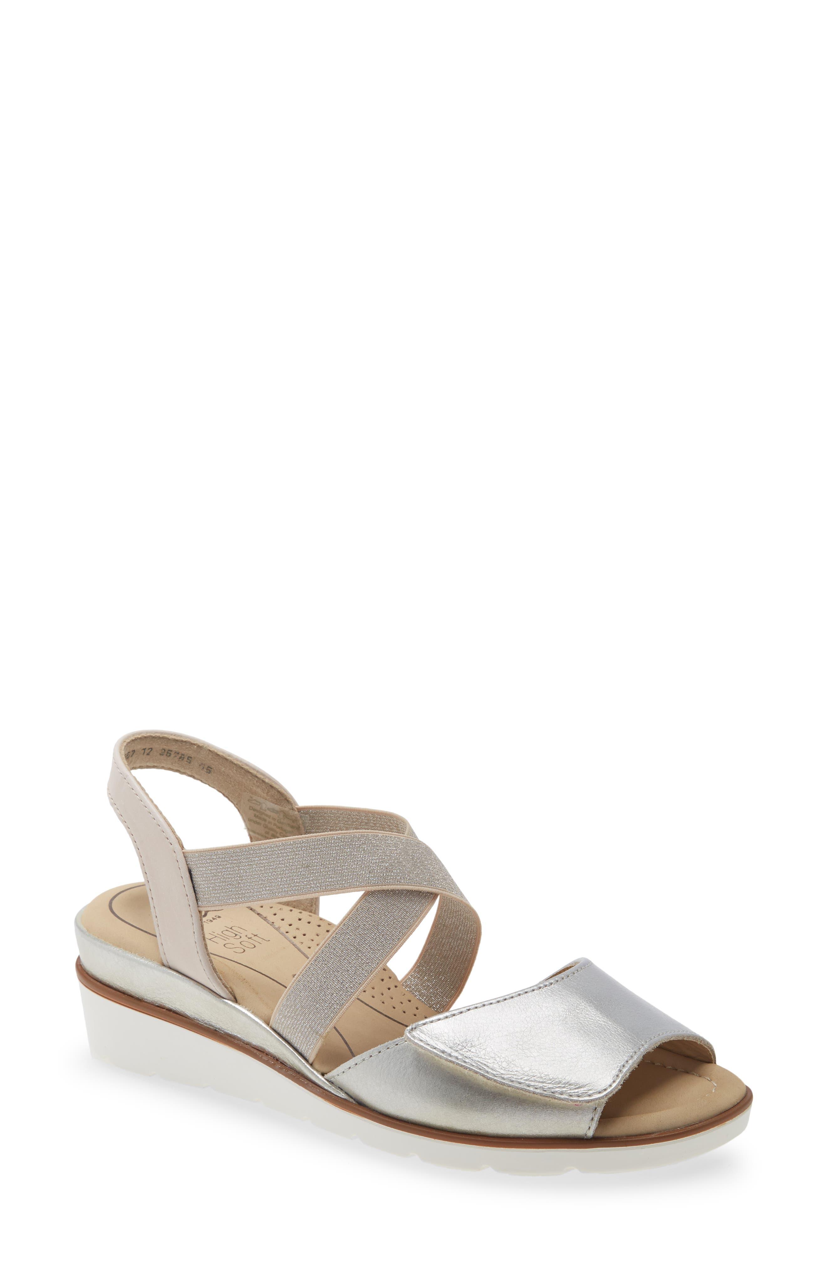 Lupita Wedge Sandal