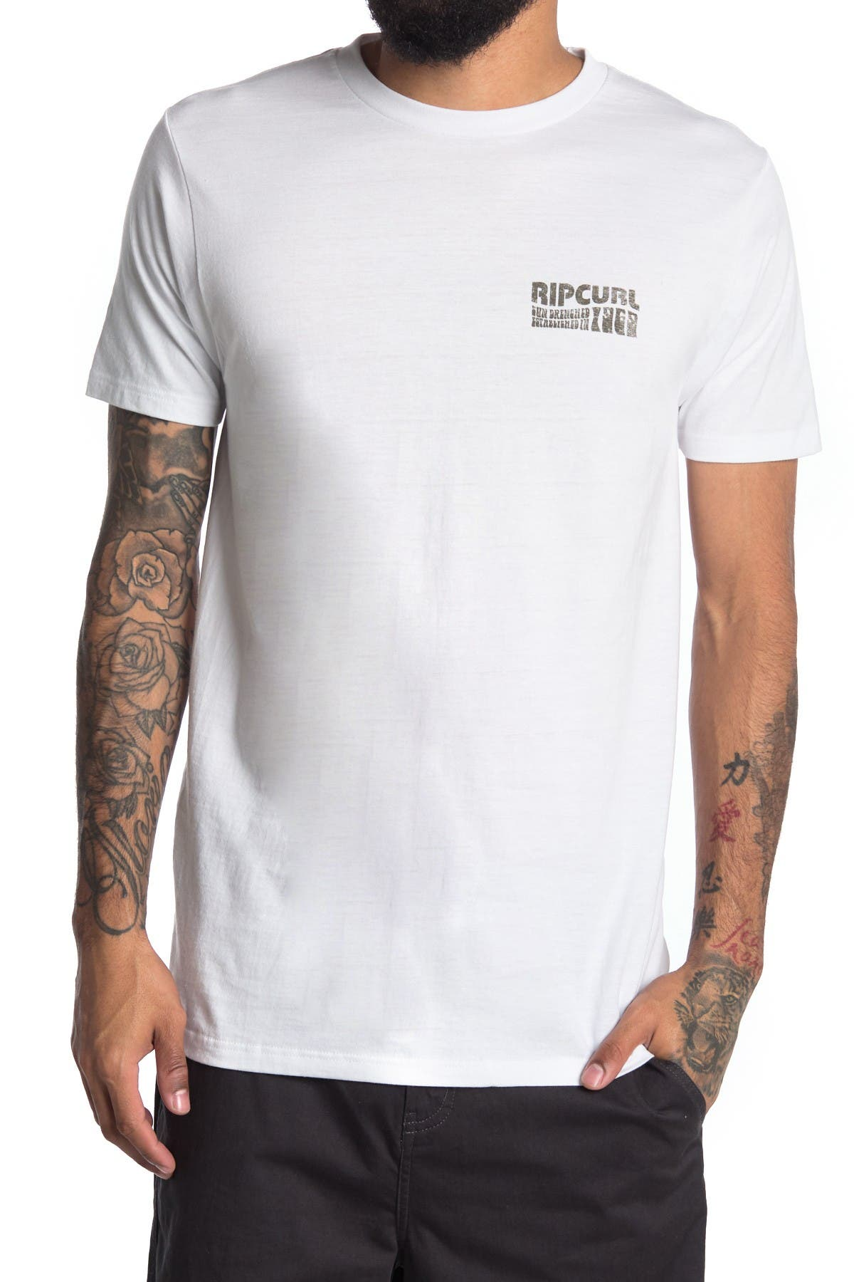 Image of Rip Curl 1996 Crew Neck T-Shirt