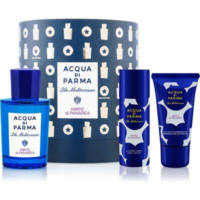 Acqua Di Parma Blu Mediterraneo Mirto Di Panarea Set (Limited Edition)