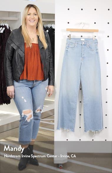 The Tomcat Roller High Waist Chew Hem Jeans, sales video thumbnail