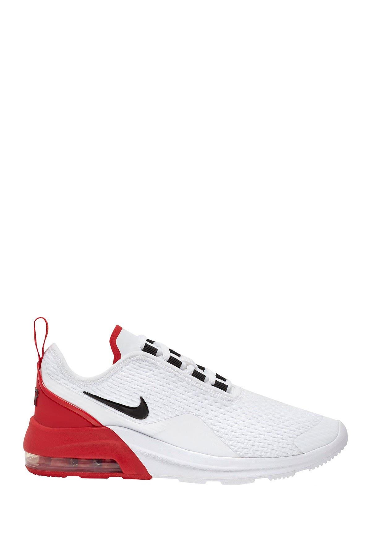 Nike Air Max Motion 2 GS Junior Girls Running Fashion Trainers Grey White Pink