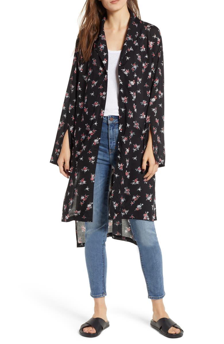 TREASURE & BOND Print Kimono, Main, color, 001
