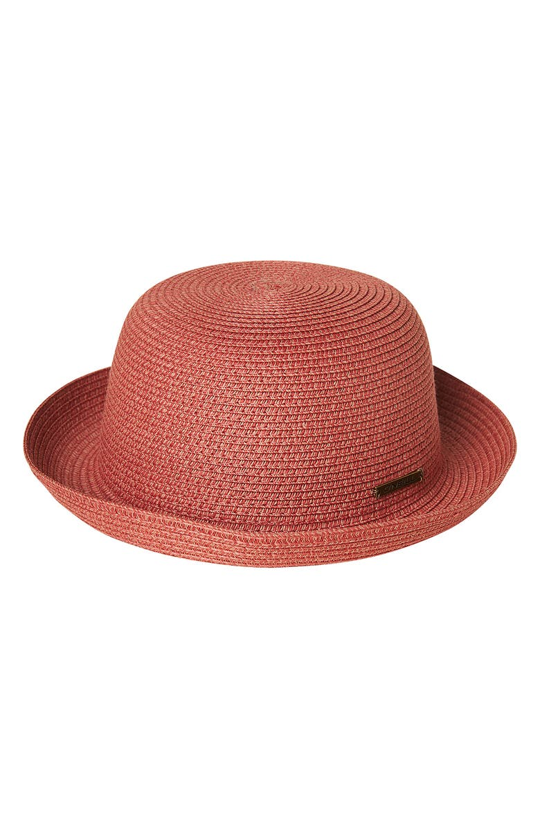 O'NEILL Mar Vista Woven Hat, Main, color, CANYON CLAY