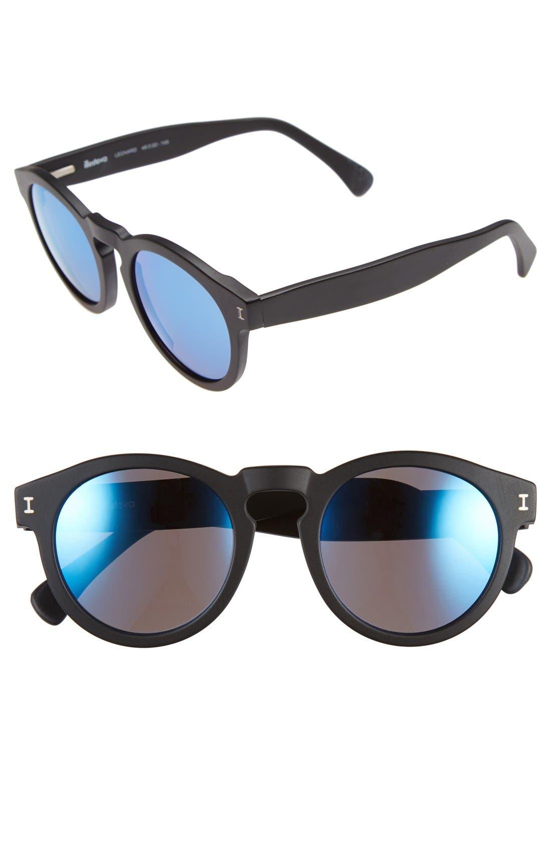 ,                             'Leonard' 47mm Sunglasses,                             Main thumbnail 15, color,                             008