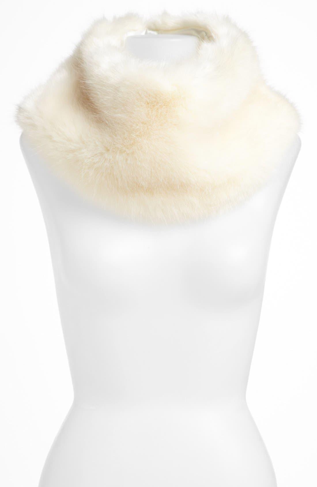 ,                             Faux Fur Collar,                             Main thumbnail 3, color,                             100