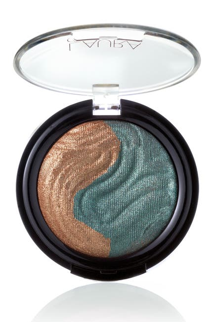 Image of Laura Geller New York Baked Eclipse Eye Shadow Duo - Bronze / Emerald