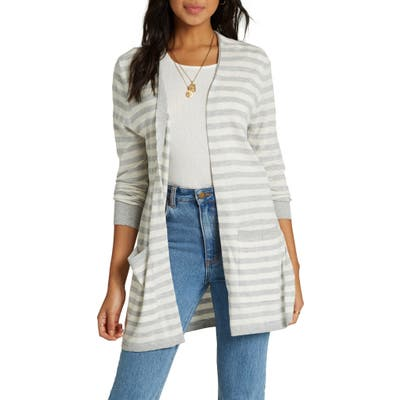 Billabong Worth It Cardigan, Grey