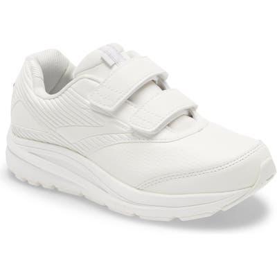 Brooks Addiction V-Strap 2 Walking Shoe, White