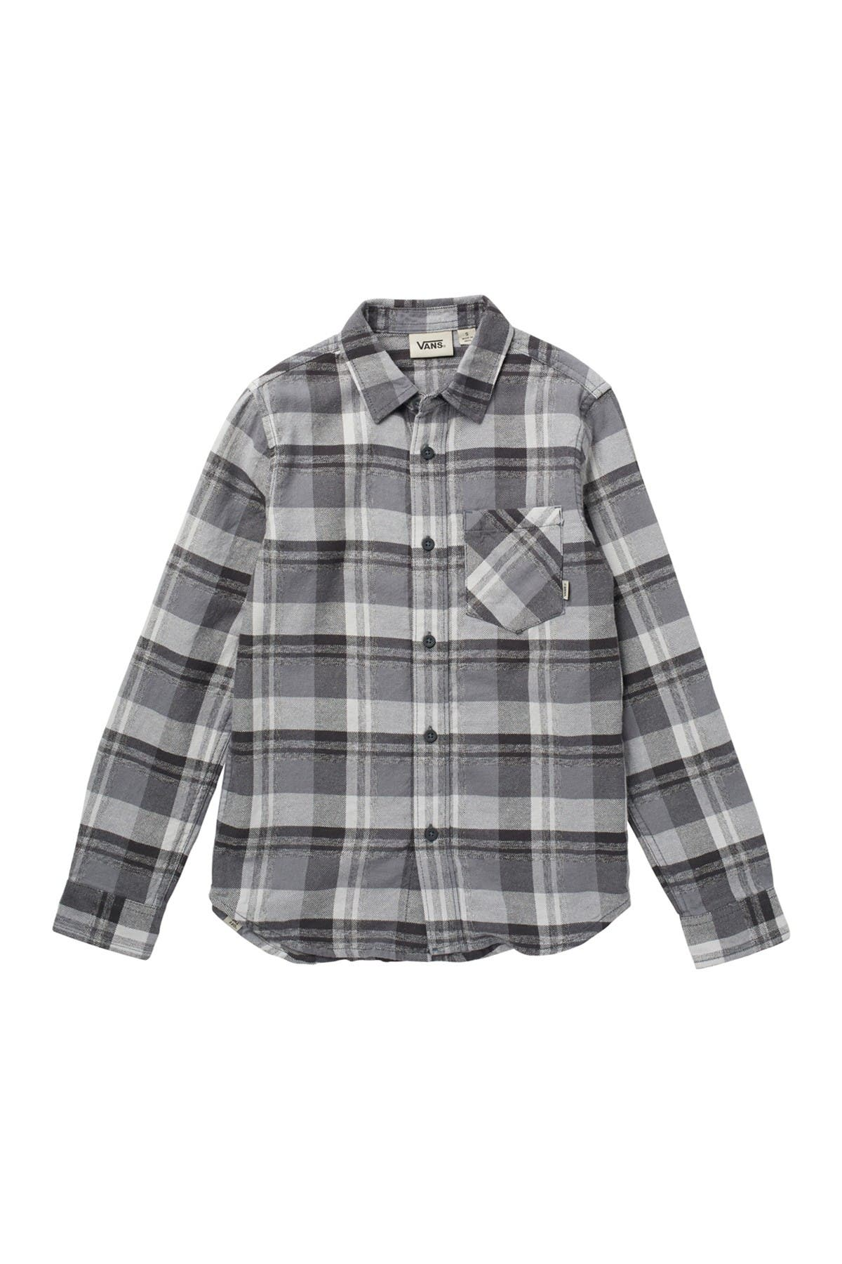 Image of VANS By Brisk Taker Plaid Print Shirt