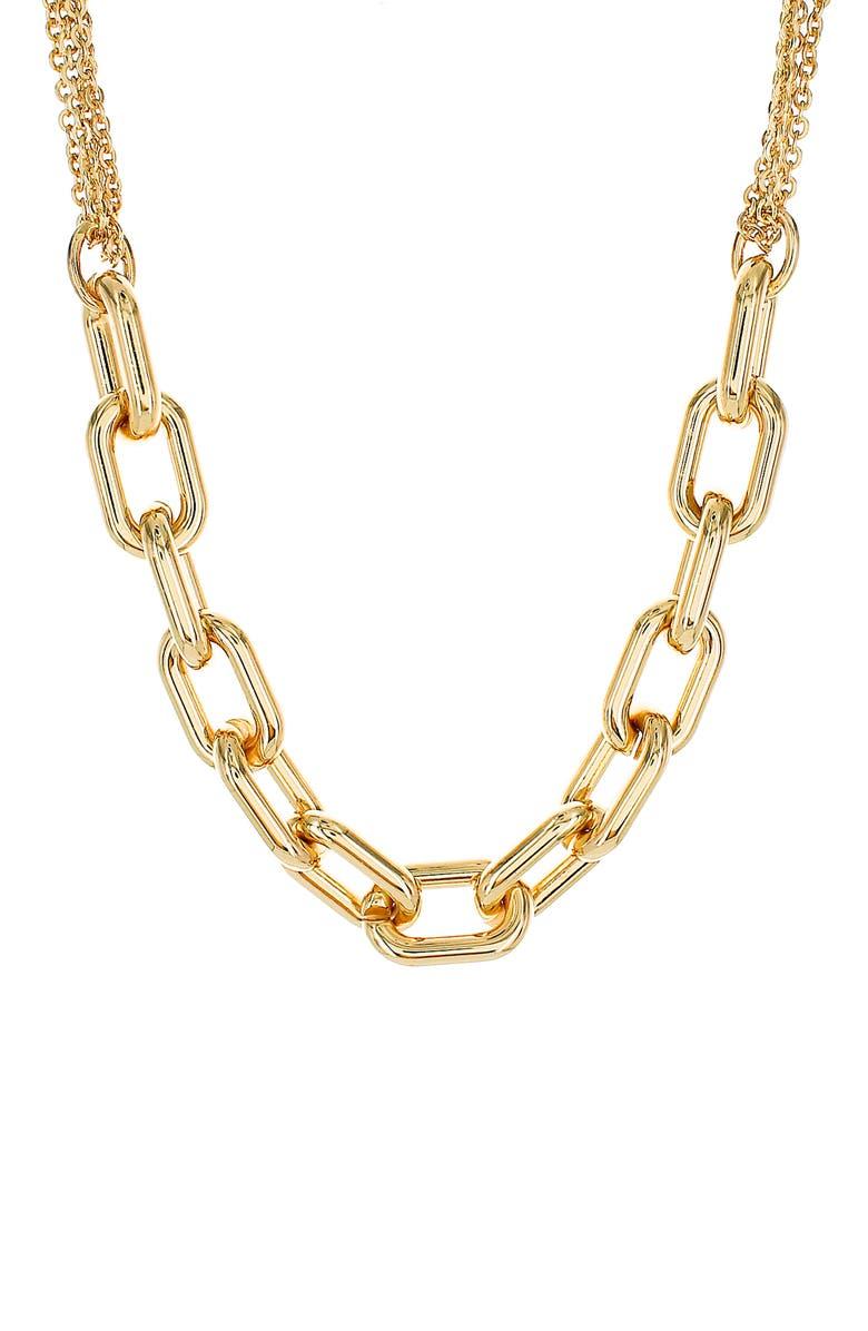 PANACEA Chain Link Necklace, Main, color, 710