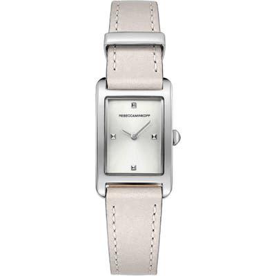 Rebecca Minkoff Moment Leather Strap Watch, 1m Mm