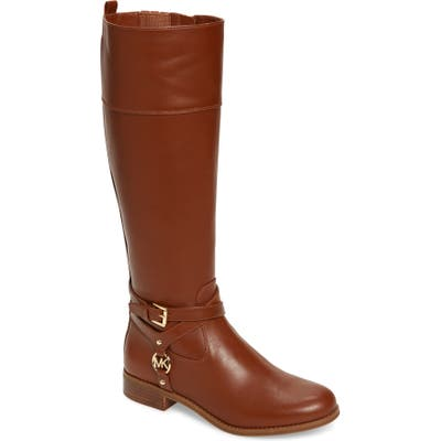 Michael Michael Kors Preston Boot Regular Calf- Brown