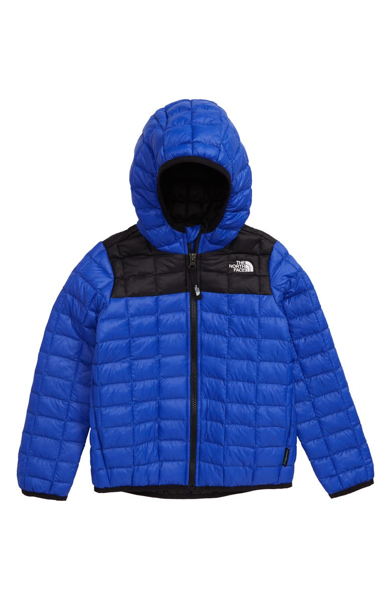 THE NORTH FACE ThermoBall<sup>™</sup> Eco Hooded Jacket, Main, color, TNF BLUE